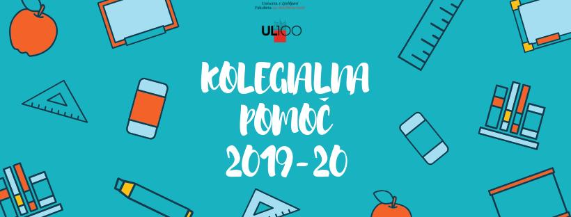 Kolegialna pomoč 2019-20
