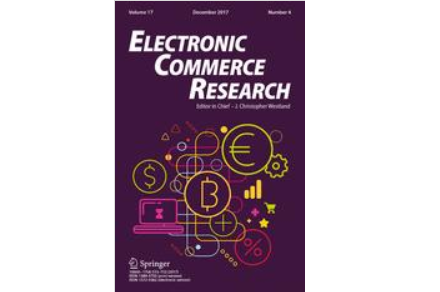 electronic commerce research_naslovnica