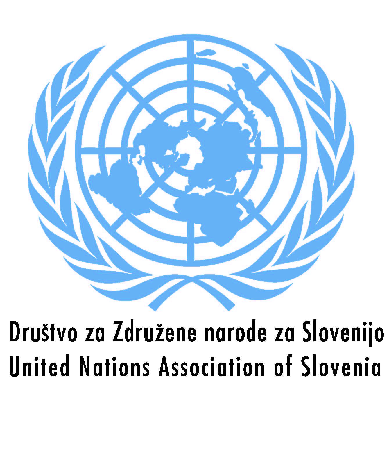 Rezultat iskanja slik za Društvo za Združene narode za Slovenijo