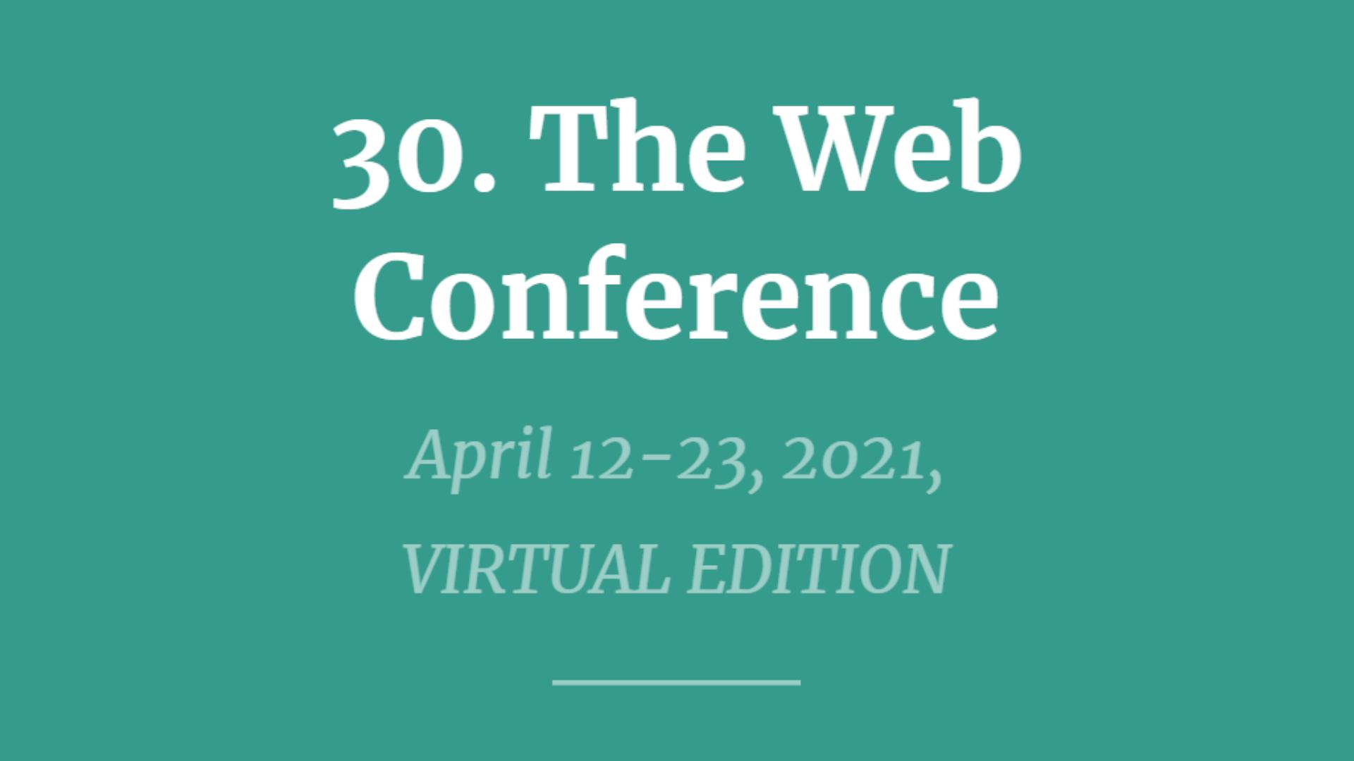 WebConf21